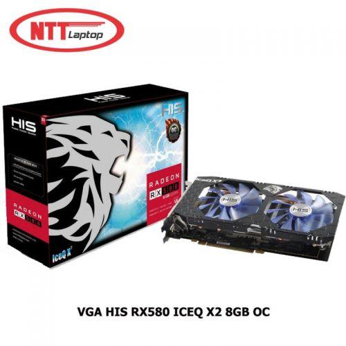CARD MÀN HÌNH HIS RX 580 8GB ( HÀNG CŨ)