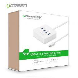 Cáp USB Type C ra 4 cổng USB 3.0 Ugreen 30316
