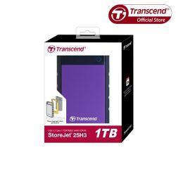 """Ổ CỨNG DI ĐỘNG HDD TRANSCEND 25H3 1TB 2.5"""" USB 3.0"""