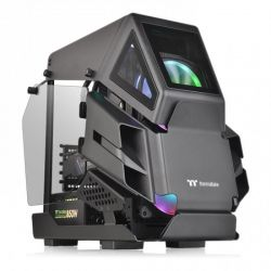 Case Thermaltake AH T200/Black/Win/SPCC/5mm Tempered Glass*2