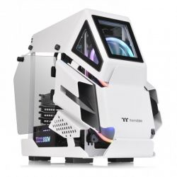 Case Thermaltake AH T200 Snow/White/Win/SPCC/5mm Tempered Glass*2