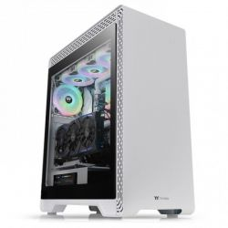 Case Thermaltake S500 TG Snow/White/Win/SPCC/Tempered Glass*1/140mm Standard Fan*1/120mm Standard Fan*1