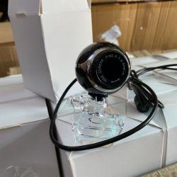 Webcam chân kẹp tròn dùng cho PC và Laptop