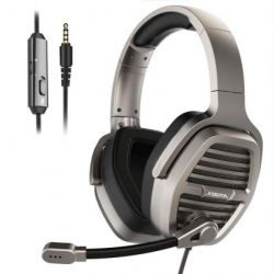 Tai nghe XIBERIA V21U 7.1 Sound LED lighting Metal Black
