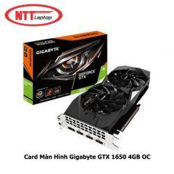 Card màn hình 4GB GIGABYTE GTX 1650 GDDR5 OC (GV-N1650OC-4GD)