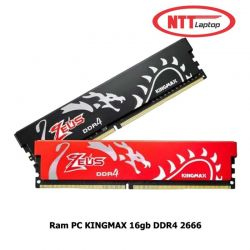 RAM KINGMAX 16GB (1x16GB) bus 2666Mhz DDR4