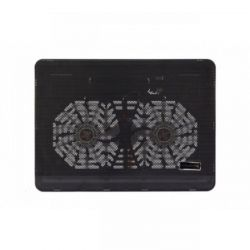 Quạt tản nhiệt, đế laptop Cooling Pad N168 2 fan