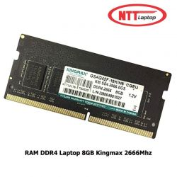 RAM DDR4 Laptop 8GB Kingmax 2666Mhz