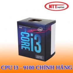 CPU Intel Core i3-9100 (3.7GHz/ 4C4T/ 6MB/ Coffee Lake-R)