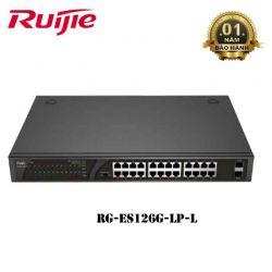 Switch POE 24 cổng RUIJIE RG-ES126G-LP-L