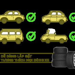 Thiết bị Áp suất lốp TPMS V1A
