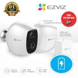 Camera không dây dùng pin 2MP EZVIZ CS-C3A-A0-1C2WPMFBR ( Tặng Kèm Thẻ Nhớ 32GB )