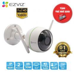 Camera IP EZVIZ C3WN 1080P (không đèn, không còi, tích hợp cảnh báo chuyển động) + Tặng kèm thẻ Nhớ 32gb