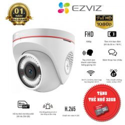 Camera Wifi EZVIZ C4W 1080P H.265 + Tặng kèm Thẻ Nhớ 32gb