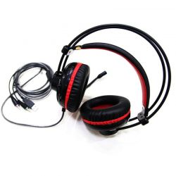 Tai nghe Over-ear Motospeed H11 (Đen,Đỏ)