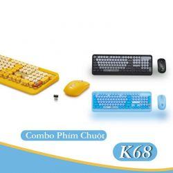 Combo Phím Và Chuột Không Dây PSPY K68
