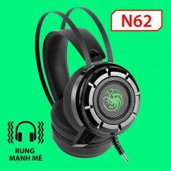 Tai Nghe EXAVP N62 LED + Rung