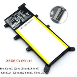Pin Asus C21N1347 ,X555 ,X555L ,F555L K555L R556L X555L ,x554 ,F554 Zin