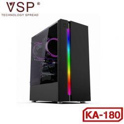 Case VSP KA-180 (Trắng + Đen ) Nắp Hông Trong Suốt